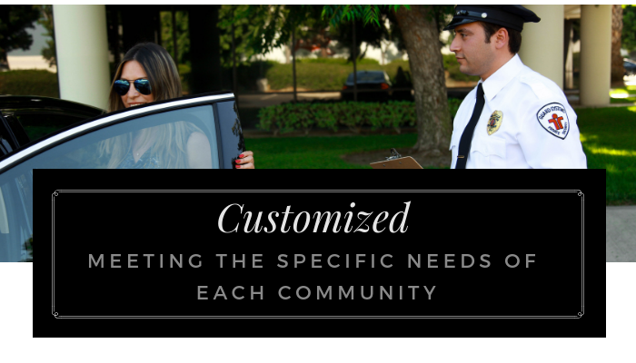 Customized Security Service